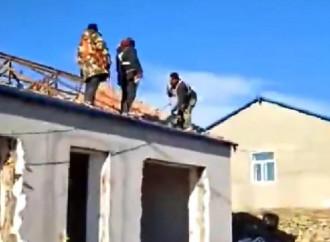 In Cina, a Qiqihar, un convento di suore è stato semi demolito per ordine delle autorità