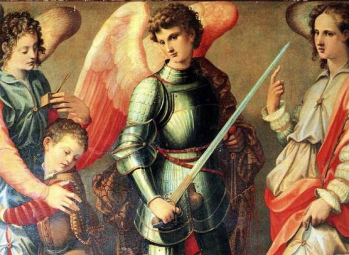 Santi Del Calendario.Santi Michele Gabriele Raffaele Arcangeli La Nuova