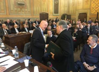 La truffa dei valori comuni: vescovo si inchina in loggia