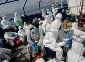 Dall'inizio del 2020 al 27 aprile sono sbarcati in Italia 3.365 emigranti irregolari