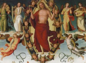 L'Ascensione, gli inni dipinti dal Perugino