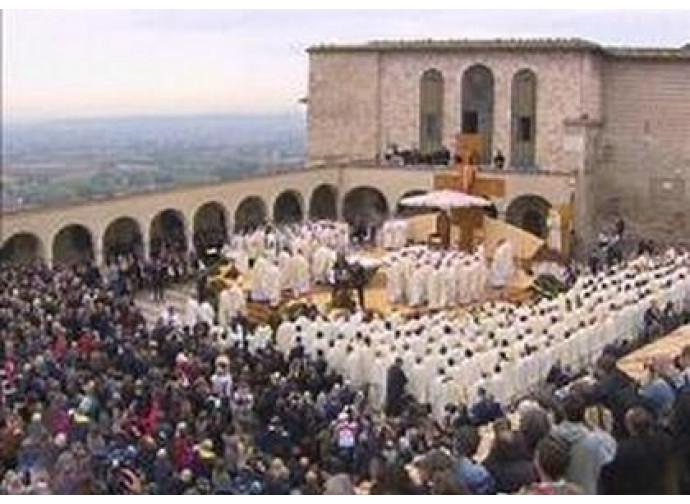 Il Papa ad Assisi