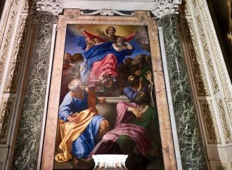 Le braccia di Maria verso la destinazione del Cielo