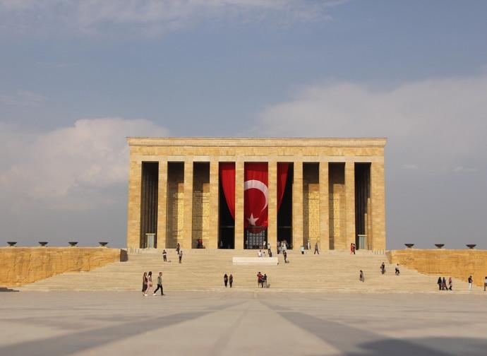 Ankara, il mausoleo di Ataturk