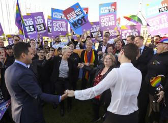 """L'Australia ha legalizzato le """"nozze"""" gay"""