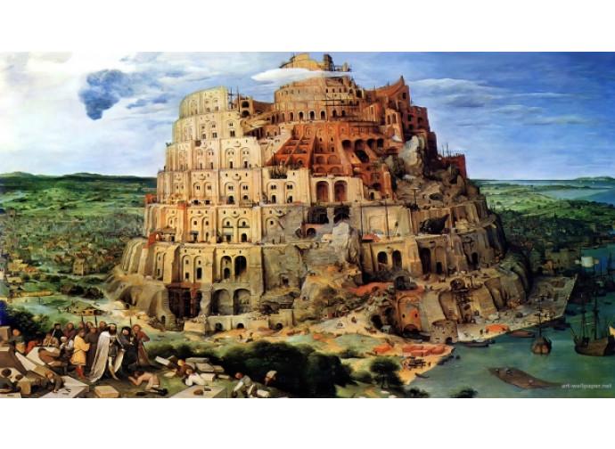 "Bruegel, ""Torre di Babele"""
