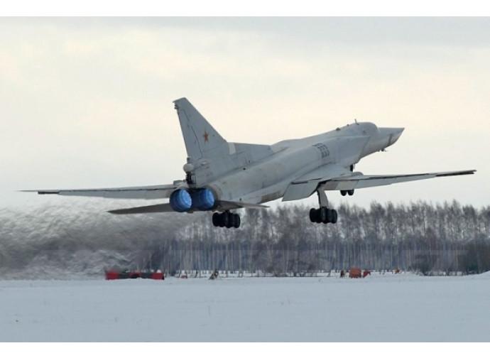 Un bombardiere russo Backfire
