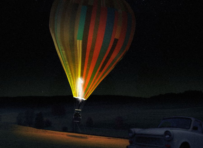 Balloon, una scena del film