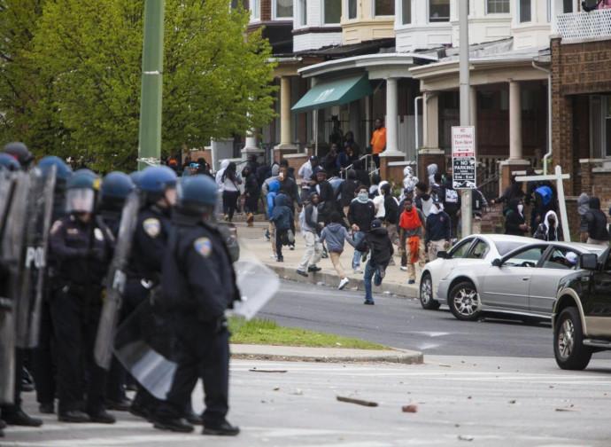Gli scontri di Baltimora del 2015