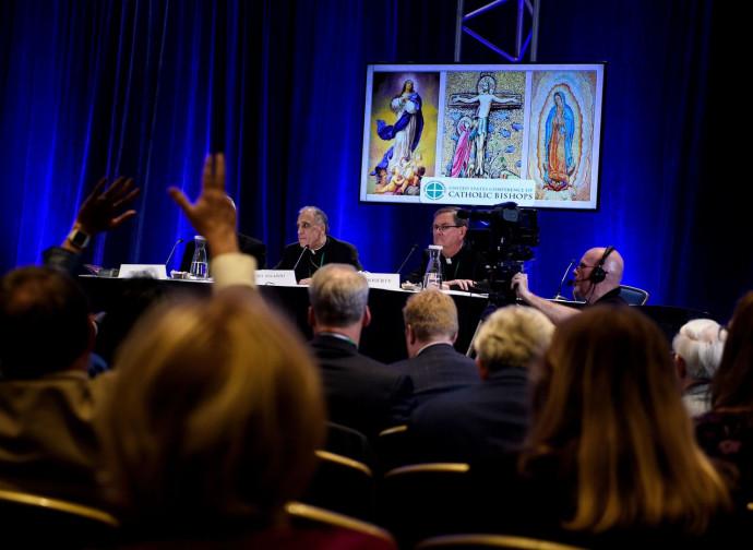 I vescovi Usa a Baltimora