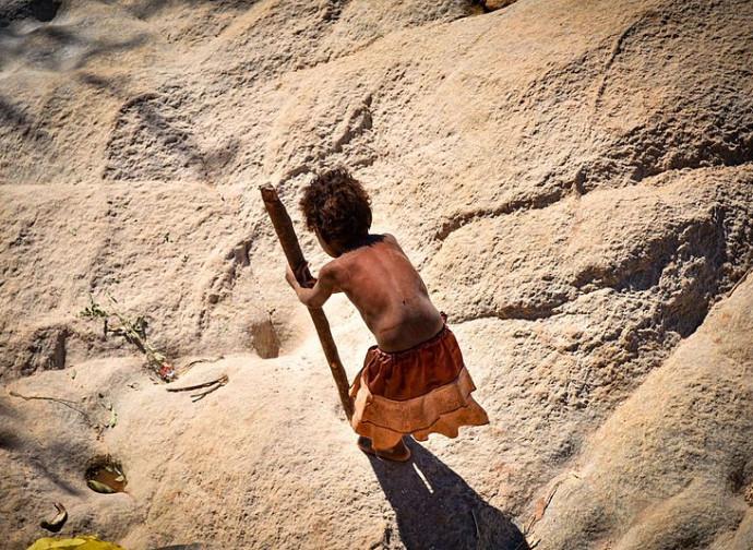 Africa, bambini al lavoro