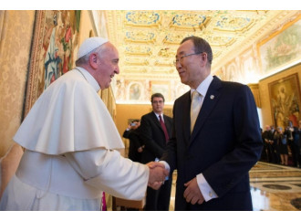 """Il Papa all'Onu: """"Non c'è sviluppo senza famiglia"""""""
