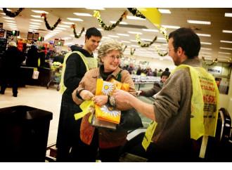 Una colletta per donare il cibo a milioni di affamati