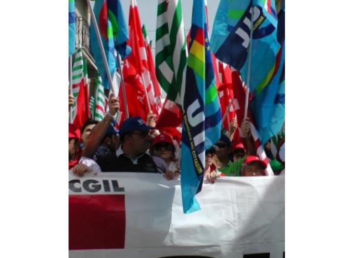 Bandiere sindacali
