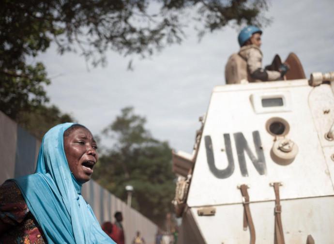 Bangui, la protesta e i caschi blu