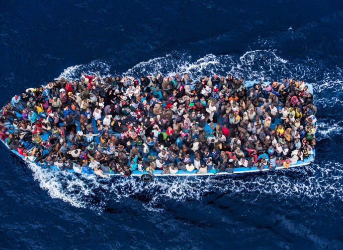 Barcone nel Mediterraneo