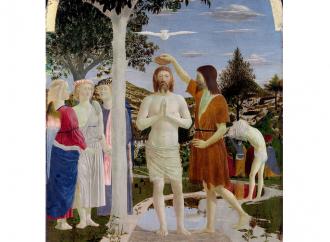 Il Battesimo di Gesù, rimando alla nascita e alla Pasqua