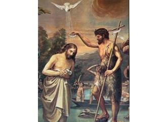 Il battesimo di Gesù nell'anno XVI di Tiberio