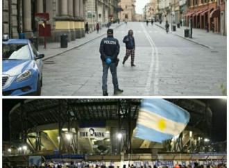 """L'ultimo """"miracolo"""" di Diego: il covid sparisce da Napoli"""