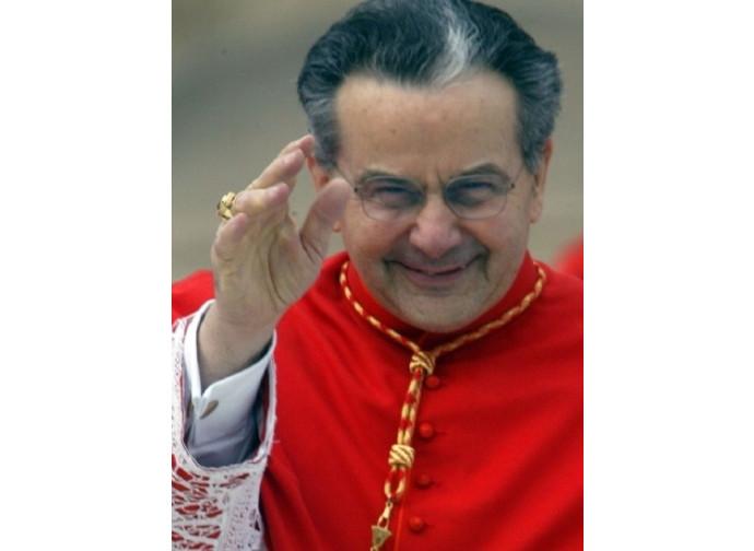 Il cardinale Carlo Caffarra, arcivescovo di Bologna