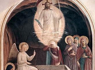 L'Angelico, il Calvario affollato e un augurio
