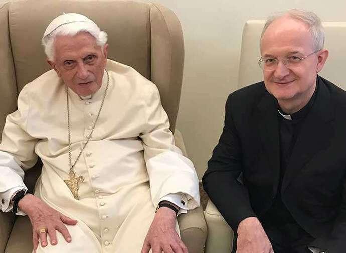Benedetto XVI e monsignor Melina