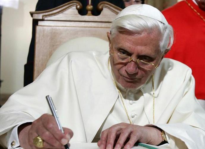 Il papa emerito Benedetto XVI
