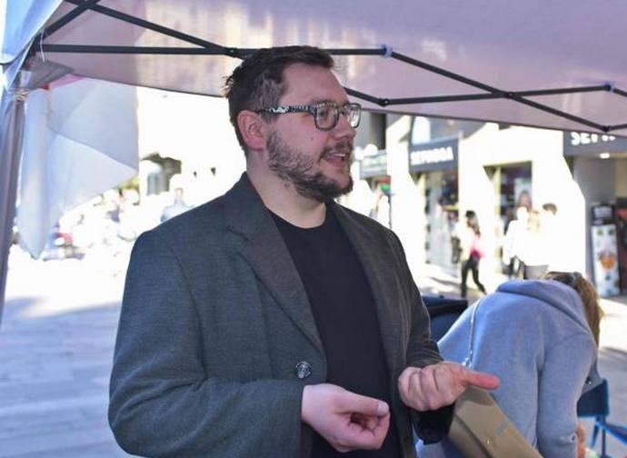 Nicholas Anesa, candidato 5 Stelle a sindaco di Bergamo
