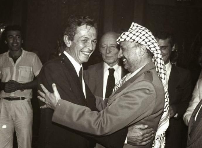 Berlinguer e Arafat nel 1982
