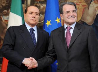 Berlusconi contro Prodi, gerontocrati a confronto