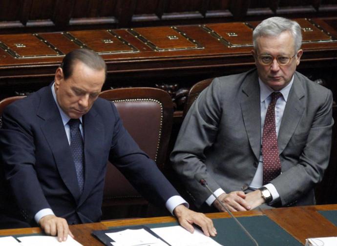 Berlusconi e Tremonti nel 2011