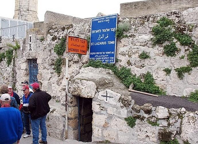La tomba di Lazzaro a Betania