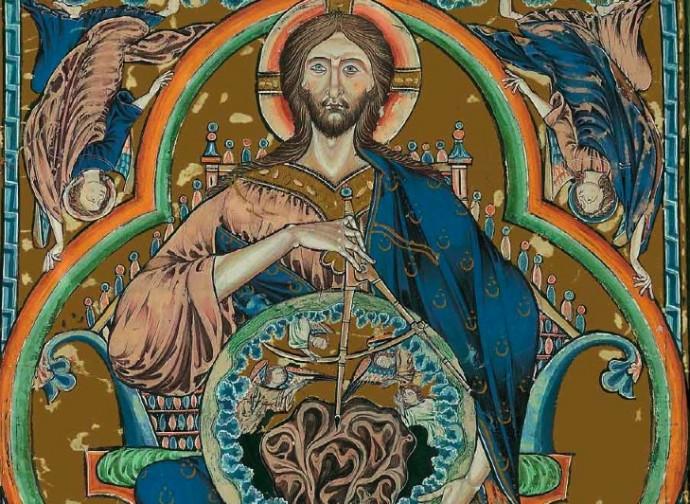 L'immagine del Cristo creatore utilizzato nelle miniature medievali e che la Massoneria strumentalizza