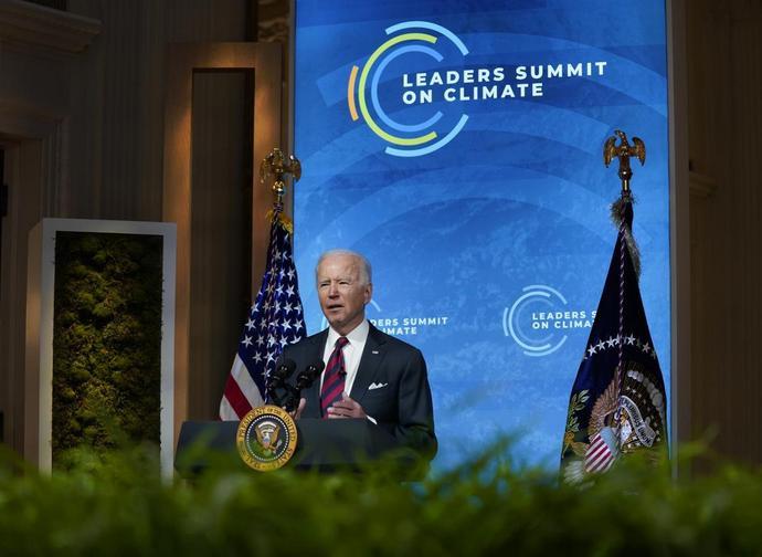 Joe Biden al Vertice sul clima
