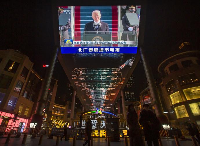 Joe Biden visto da Pechino