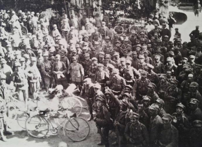 Il BLVCA, il battaglione in cui si arruolarono i futuristi nel 1915