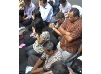 Via Crucis dei cristiani Decima stazione: Bogor (Indonesia)