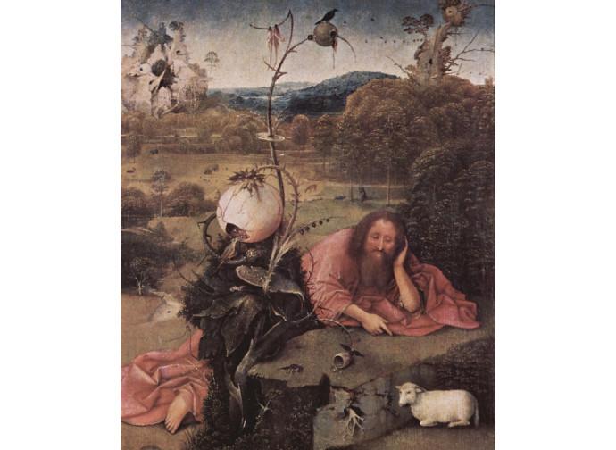 Giovanni Battista nella tesa di Hieronymus Bosch