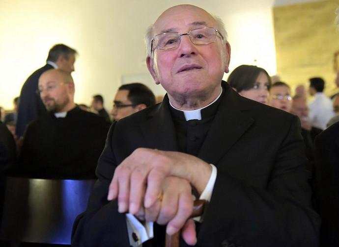 Il cardinale Brandmüller