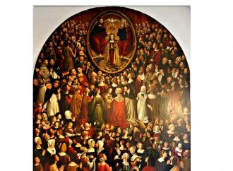 In 215 figure la moltitudine esultante dell'Apocalisse