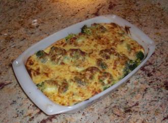 Broccoli gratinati al Parmigiano