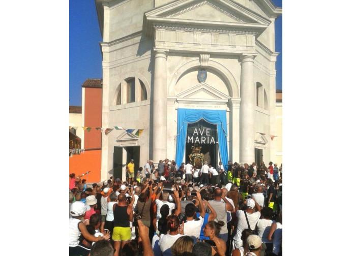 Il santuario dell'Apparizione sull'isola di Pellestrina (Venezia)