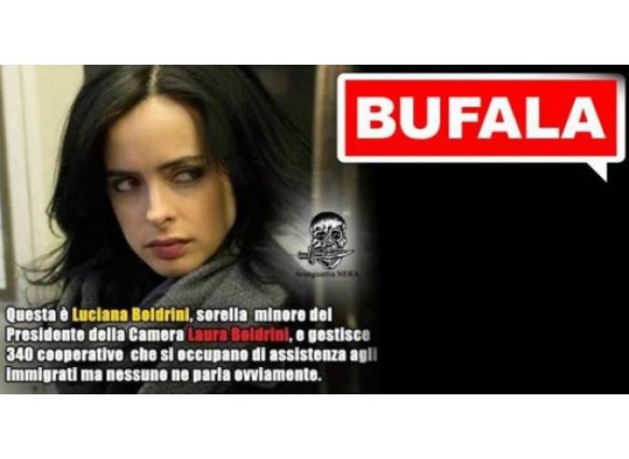 La bufala della bufala sulla sorella della Boldrini