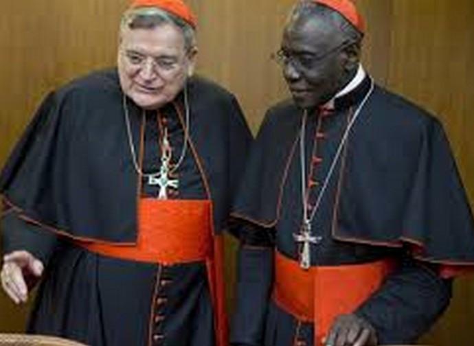 I cardinali Burke e Sarah