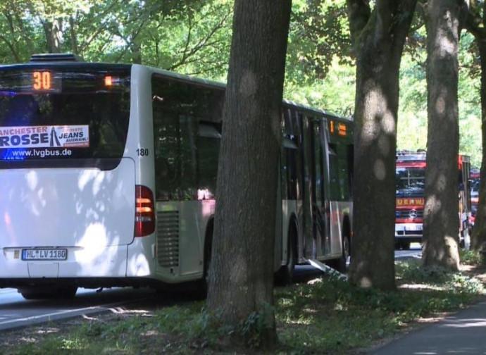 Lubecca, il bus della mancata strage