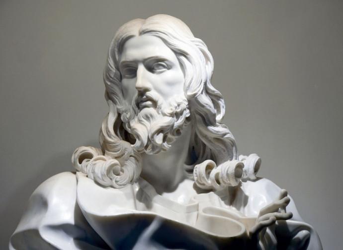 Il busto del Salvatore di Bernini