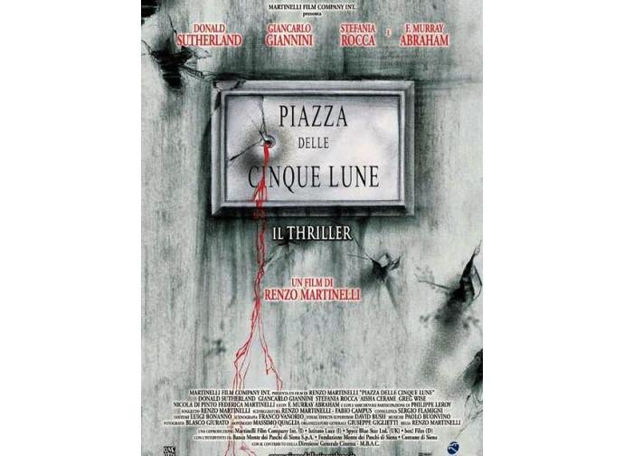 La locandina del film Piazza Cinque Lune