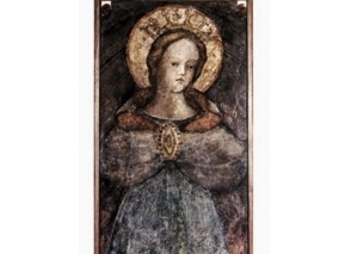 L'effigie di Maria nel Duomo di Faenza