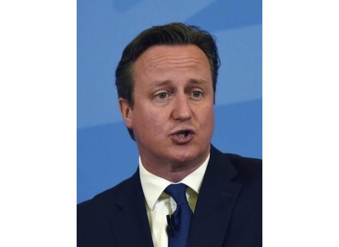 Il premier inglese David Cameron