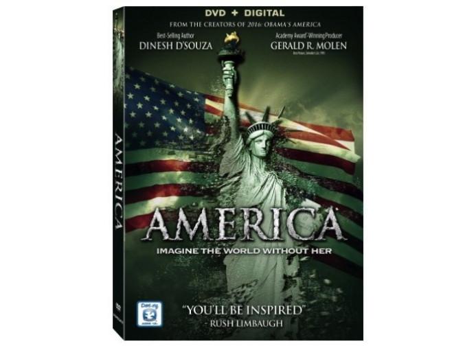 La locandina del docu-film America: imagine the world without her
